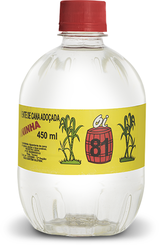 Caninha oi 81 450 ml Pet x 12 un.