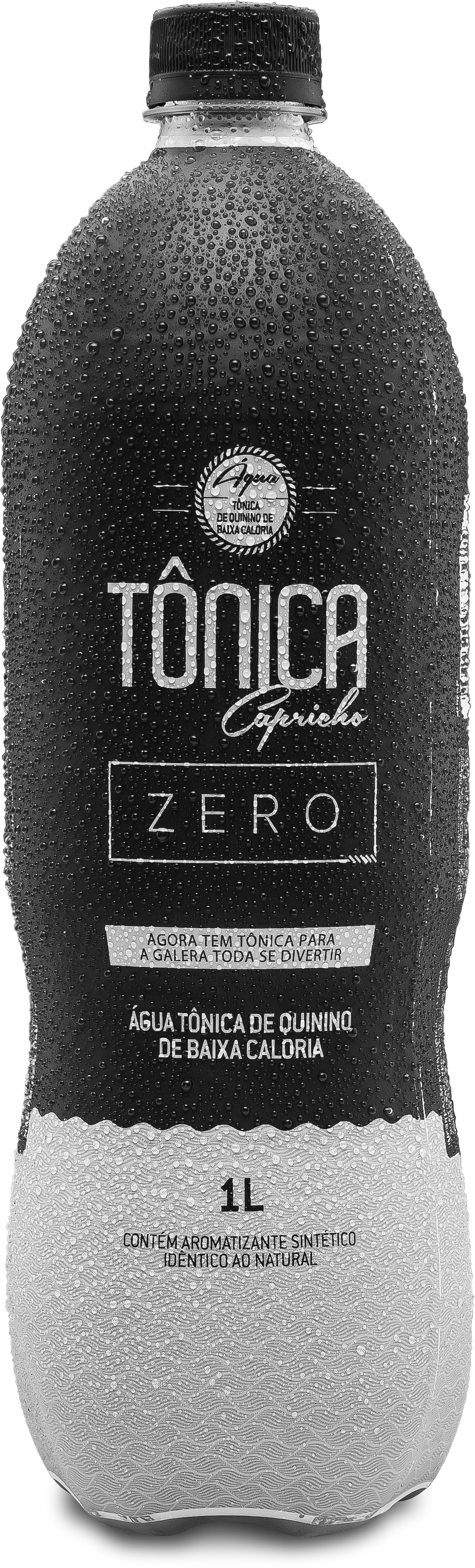 Agua Tonica Capricho Zero 1000ml Pet