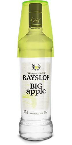 Rayslof Big Apple Premium 900ml Vd x 6 un.