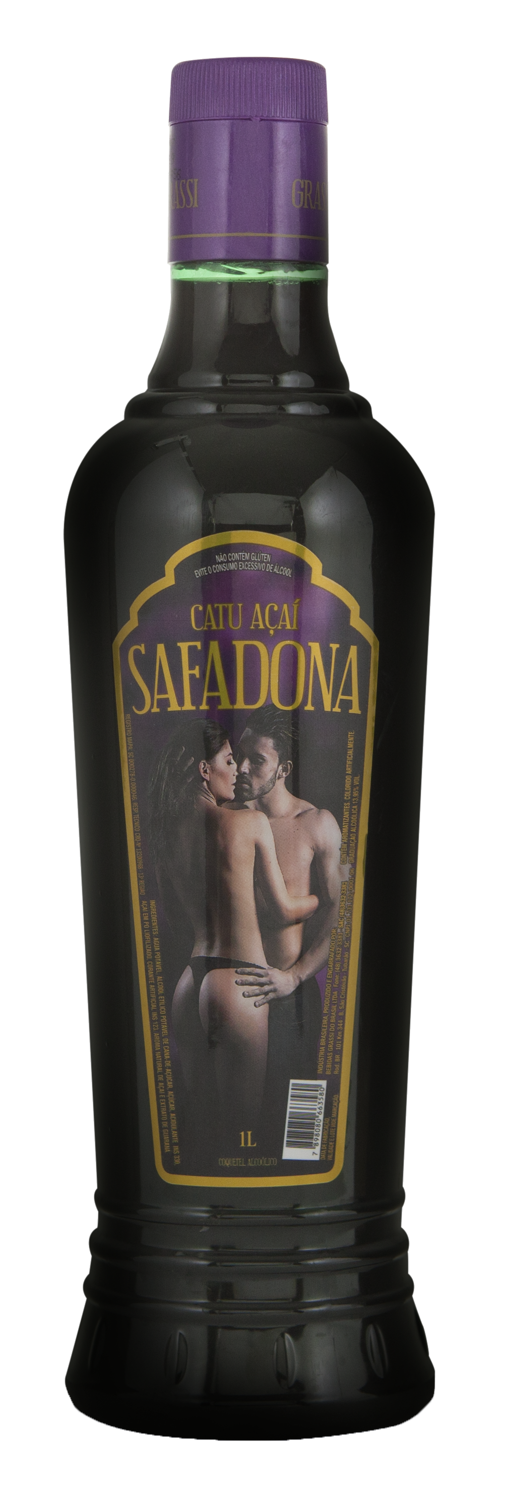 Catuaba de Açai Safadona 1000ml Pet x 6 un.